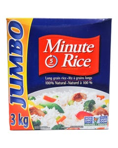 Minute Rice 3kg