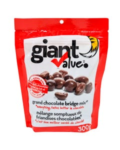 Giant Value Chocolate Covered Bridge Mix 300g