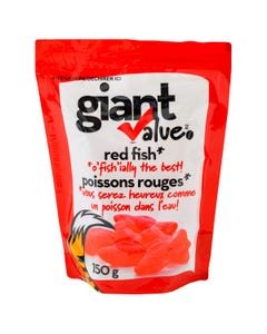 Giant Value Red Fish Bag 150g