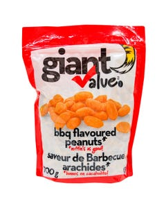 Giant Value BBQ Peanuts 700G