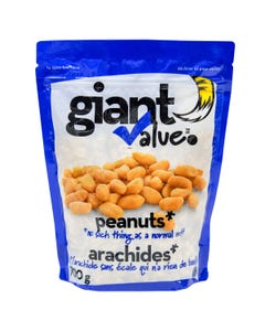 Giant Value Blanched Roasted Peanuts Salted 700g