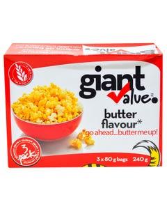 Giant Value Popcorn Butter 240g