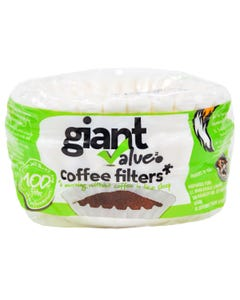 Giant Value Coffee Filter Basket 100ct