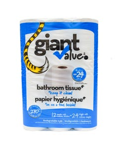 Giant Value Papier Hygiénique 12ct
